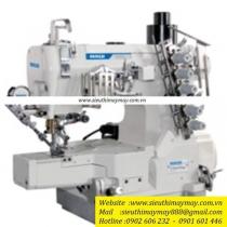 LS-32026P-01CB-UT máy viền ống Maqi ,máy viền ống điện tử cắt chỉ nâng chân vịt tự động