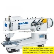 LS-3820D-PL máy móc xích Maqi ,máy 2 kim móc xích ,2 kim song song có trợ lực ,motor điện tử liền trục