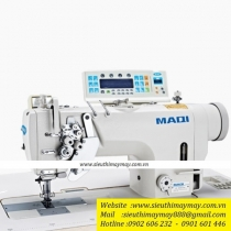 LS-8750N-D3 máy 2 kim Maqi ,máy 2 kim di động ổ lớn điện tử cắt chỉ tự động