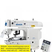 LS-T438GB máy nút Maqi ,máy nút điện tử cắt chỉ nâng chân vịt tự động ,motor Dahao ,panel bấm