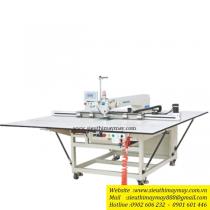 M9-90SY máy lập trình Maqi ,máy may chương trình trần bông điện tử cắt chỉ nâng chân vịt tự động bằng hơi ,khổ 1300x850mm