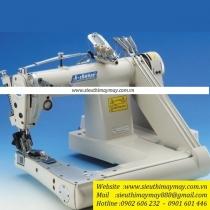 MS-2260-SP-XHP máy cuốn sườn Kchance ,máy cuốn sườn 3 kim sơmi  may vải trung bình-mỏng ,trợ lực gần 1 rulo sắt răng nhuyễn ,cự ly 3.2mm ,6.4m