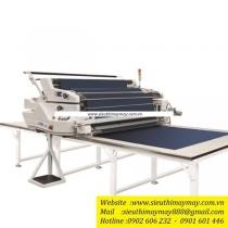 NA-650-8 máy trải vải TSM ,máy trải vải tự động có thể dùng cho vải dệt kim và dệt thoi ,khổ vải 2235mm ,đường kính cuộn vải 500mm ,trọng lượng cuộn vải 80kg ,khổ bàn 2430mm