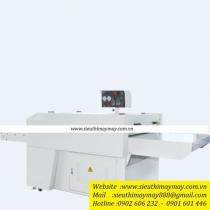 NHG1200-QS2 máy ép keo Shengtian băng hở ,khổ 1200mm ,công suất đốt nóng 25kw ,lực ép 0.7MPa ,điện áp 380v ,cân nặng 680kg