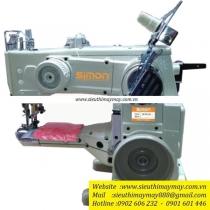 SM1500-156 máy viền đầu heo Simon ,máy viền đầu heo 2 cầu cưa ,cự ly 5.6 mm ,sử dụng motor điện tử tiết kiệm điện