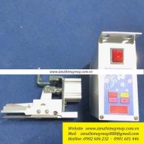 SMRS-TC-A bộ chặt dây viền Simon ,bộ cắt dây viền dùng hơi kèm hộp điện tử có thể điều khiển chặt dây tự động