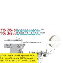 TFS-26-8 bộ phụ trợ Racing ,bộ cấp dây viền đặt bên hông máy khổ 200mm ,gắn trực tiếp xuống bàn máy
