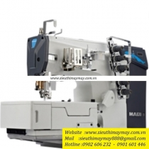 W1-01CB-I máy viền Maqi ,máy viền bằng thế hệ mới ,kết hợp motor điện tử liền trục tiết kiệm điện ,có cổng USB