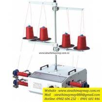 WJ-40C máy sang chỉ Weijie ,máy sang chỉ 4 ống loại ống chỉ có chân