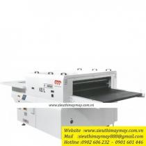X1400K-EL-TCX máy ép keo Martin ,máy ép keo khổ 1400mm thiết kế băng tải lộ thiên