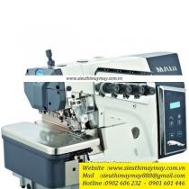 X1-5-02-223 máy vắt sổ Maqi ,máy vắt sổ 2 kim 5 chỉ ,motor liền trục thế hệ mới  ,khoảng cách kim 3mm bờ vắt sổ 5mm