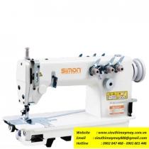 SM-8380 máy móc xích Simon ,máy 2 kim móc xích 2 kim song song ,motor tiết kiệm điện
