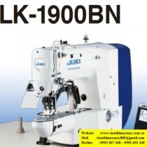 LK-1900BNSS máy bọ điện tử Juki ,loại máy bọ chuyên may hàng trung bình